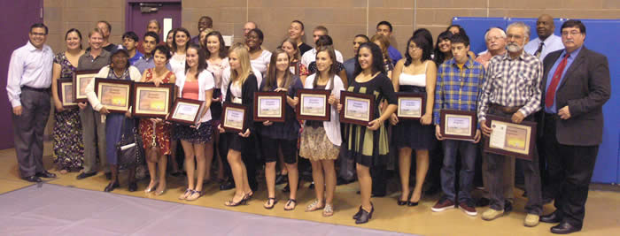 2011 Fall Community Leadership Award winners