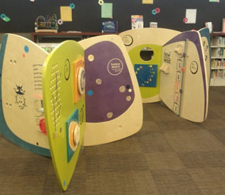 Wilmot Library Children's Interactive Project