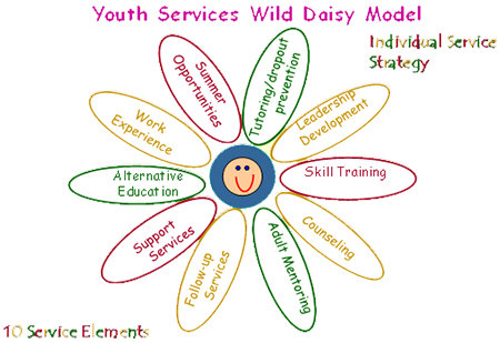 Youth Services Wild Daisy Model