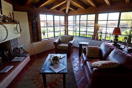 Ghost Ranch Lodge interior