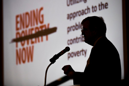 Ending Poverty Now workshop