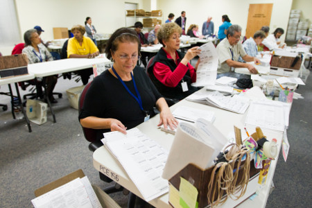 Sample ballots mailed