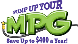 Pump Up Your MPG logo