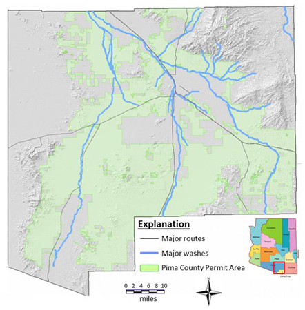 Pima County MS4 Permit Area