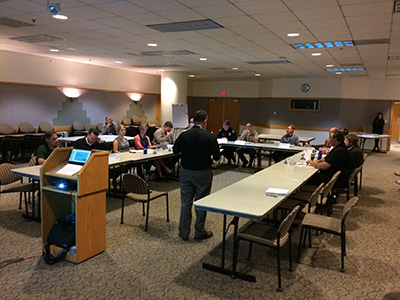 Photo from stakeholder meeting on 2/10/2017.