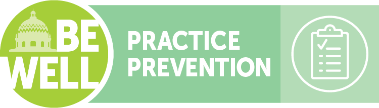 BeWell Practice Prevention Logo