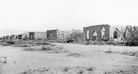 Photograph of Historic Fort Lowell, courtesy of Arizona Historical Society