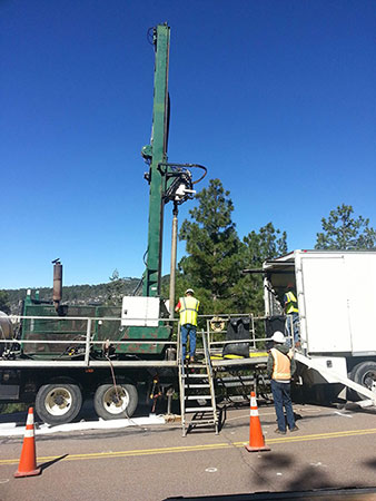 Mt. Lemmon Drilling