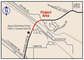Colossal Cave Roadway Improvements