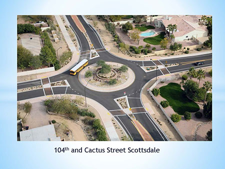 Examples of Roundabouts