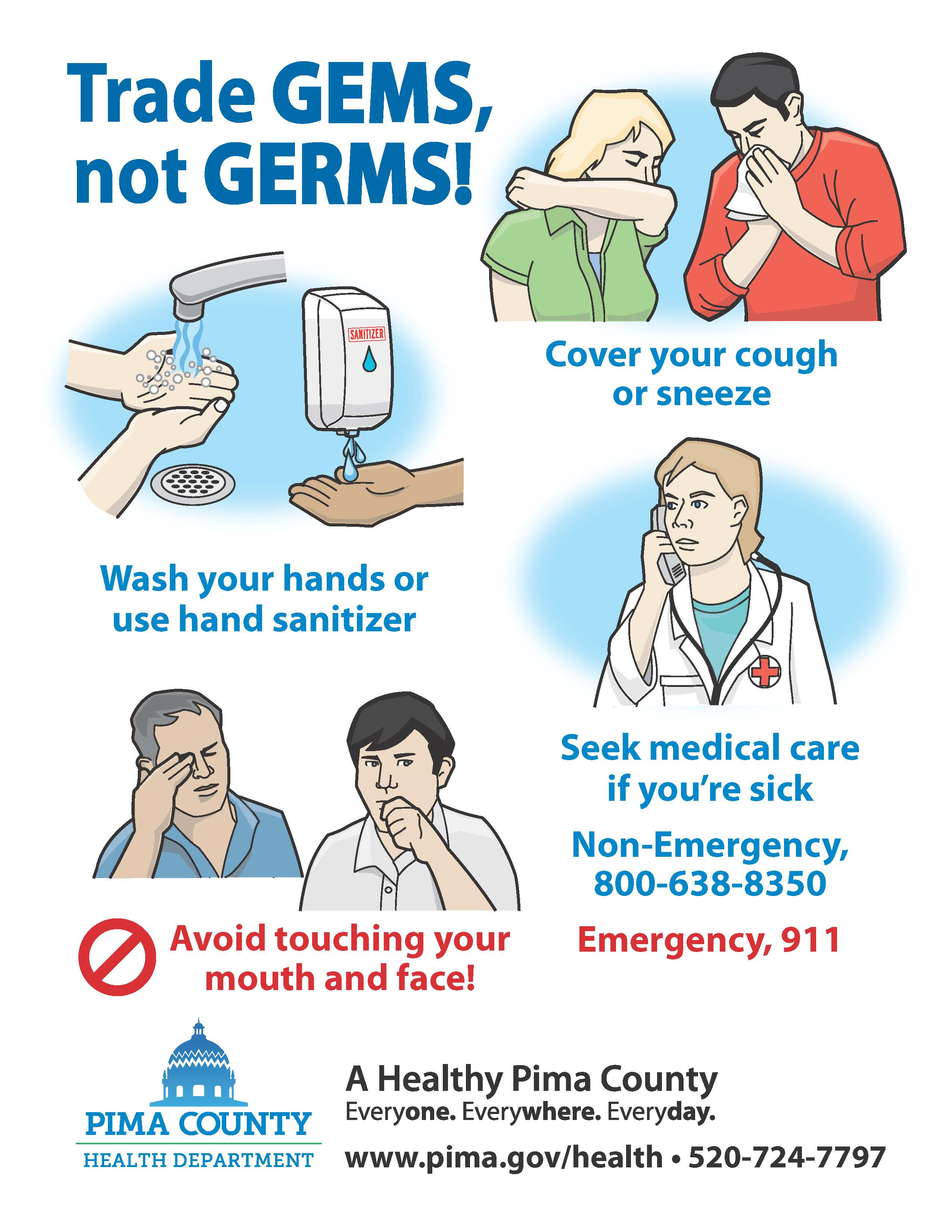 Gems not Germs