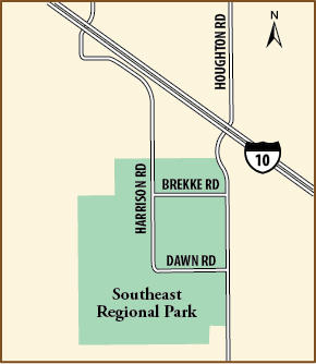 Southeast Regional Park Map